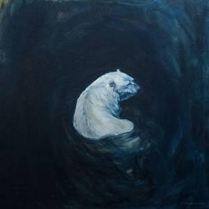 Christine Montague - Dark Water - 30x30 - Oil