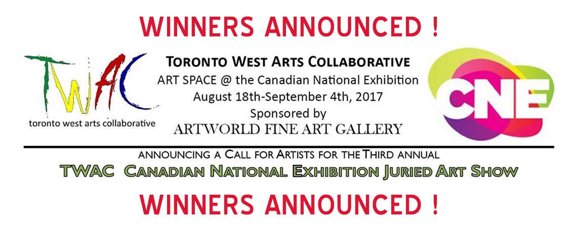 TWAC-CNE Juried Art Show 2017 Selected Artists