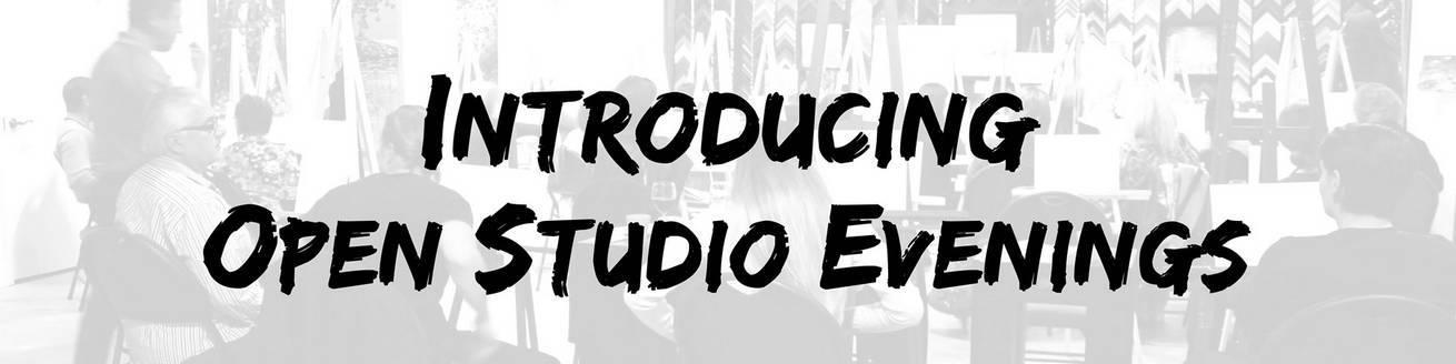 Open Studio Banner