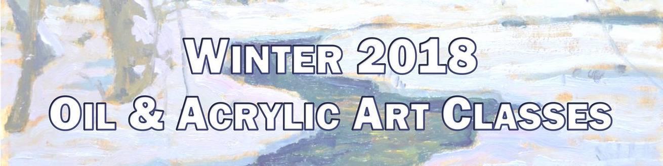 Winter 2018 Classes Banner